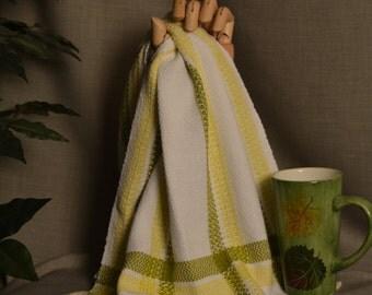 Handwoven Cotton Dishtowel (tea towel)