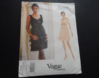 Vintage Vogue Designer Pattern by Bellville/Sassoon 1980s