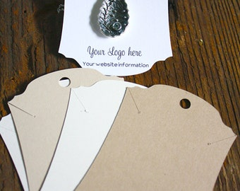 Necklace Display Cards Varies Sizes  - Product Packaging - Display Cards_No. 56