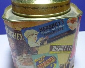Hershey's Chocolate Vintage Edition #3 Tin, 1995 (empty)