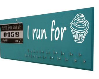 Running medals holder - holder for medals - medals holder - running medals holder - i run for cupcake