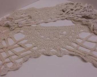 Antique Vintage Crochet Trim - 50-inche piece