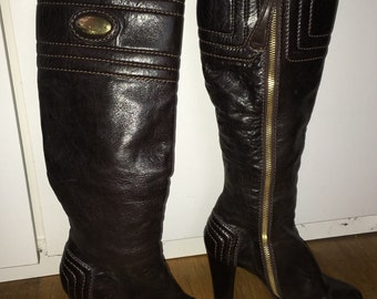 Chloe knee high boots