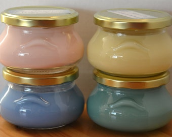 Always On Sale:  Wickless soy wax jars for melters and warmers