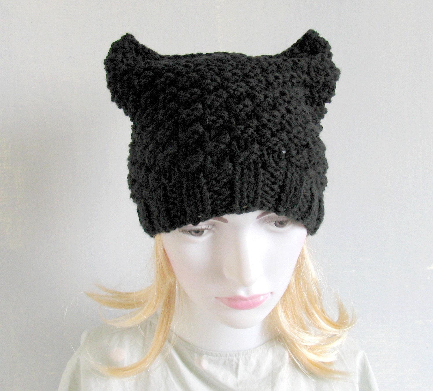 Knitting Patterns For Hats With Cat Ears : Kitchen & Dining