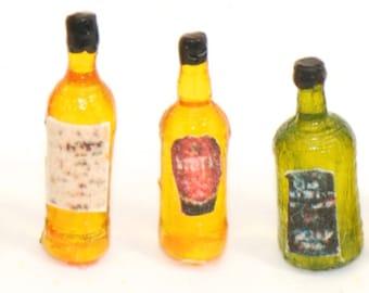1:48 Set of 7 Whisky Bottles NEW!