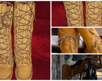 Size 13 Men's Moccasin Pattern-Boot
