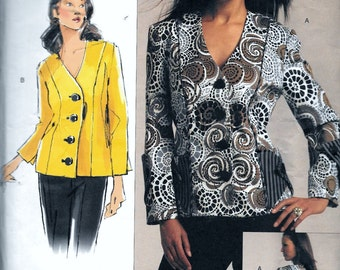 Vogue V1110 Today's Fit Sandra Betzina Jacket Sewing Pattern 1110 All Sizes Including Plus UNCUT