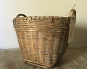 Fabulous High Quality Vintage wicker storage basket / My Vintage Home