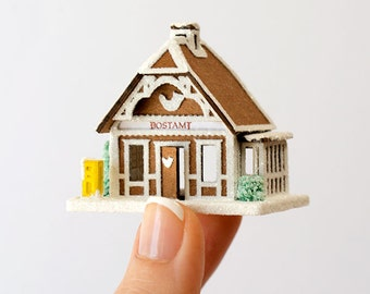 Micro Gingerbread Post Office Kit