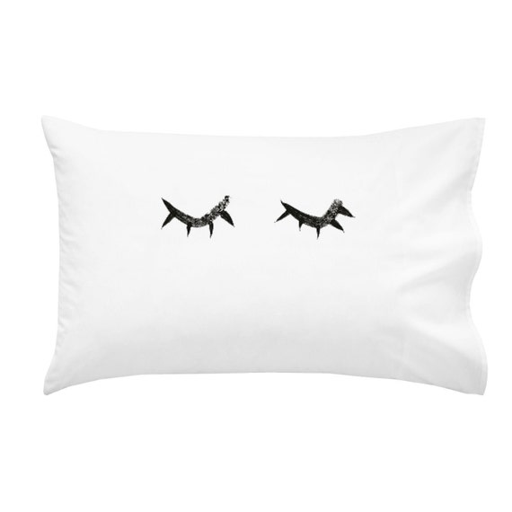 Cute Eyelash Pillow : Items similar to Sleeping Eyelashes Pillows Cute Pillows Eyelashes Eyes Sleeping Girly Bedroom ...