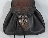 Customizable Large Sporran Design Leather Belt Bag / Pouch Medieval, Bushcraft, LARP, SCA, Costume, Ren Faire