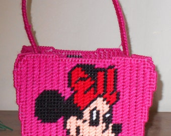 Minnie Easter Basket Plastic Canvas Pattern