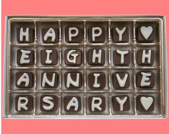 8th Anniversary Gift 8 Years Wedding For Husband From Wife Happy Eighth