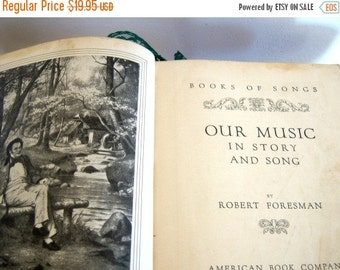 Vintage Our Music in Story and Song 1935  Online Vintage, vintage clothing, home accents, vintage dress