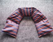 Heating Pad Microwaveable Corn Bag for Neck -- Stripey for Men, 5x30