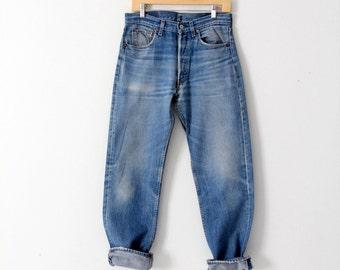 vintage Levi's 501 denim jeans, 31 x 31