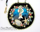 Enchantment Under the Sea Bib Necklace SALE