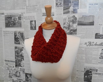 Rescue Scarf - Burnt Orange
