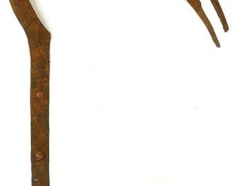 Nuna Bwa Diviner's Scepter Iron Hornbill Burkina African Art 82903