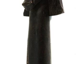 Fang Reliquary Head Gabon African Art 98758