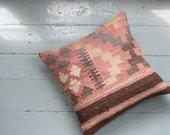Turkish Kilim pillow - The Karla