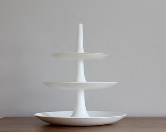 Koziol Babell white three tier cake stand Germany