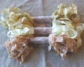 RESERVED for Lynda Crinkled Seam Binding Ribbon  shabby chic, cottage, rustic, French Country, Wedding