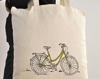 Personalised Amsterdam Bike Tote Bag