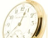 Hamilton grade 940 vintage pocket watch, 18 Size, 21 Jewels, yellow gold filled smooth polish screw back & bezel case