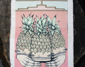 Full Color Pineapple Back Patch