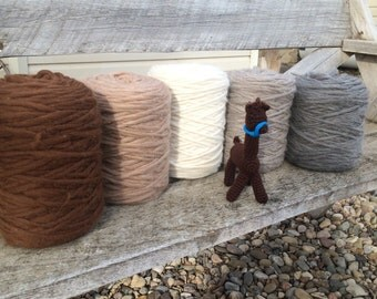 Royal Baby Alpaca Pencil Roving for Handspinners 1 lb choose from 5 colors