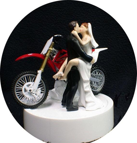 Dirt Bike Cake Topper