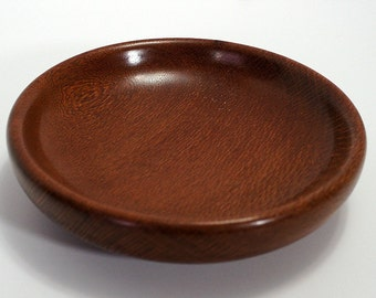 Bowl , leopardwood