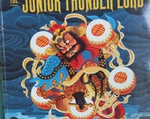 1997 Book. The Junior Thunder Lord by Laurence Yep. Softcover. Chinese Folktale. Pictures by Robert Van Nutt.