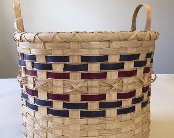 Handmade Extra Large Bushel Basket