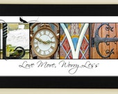 LOVE Alphabet Photography Letter Photos- framed 5x12
