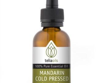 Mandarin Cold Pressed Essential Oil 30 Ml / 1 Oz. 100% Pure, Undiluted,