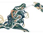 Meander Map S1; digital fine art print; EKremenak