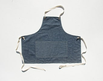 Apron No. 1 in Chambray