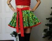 CUSTOM Teenage Mutant Ninja Turtle TMNT Pleated Skirt - Choose Your Colour!