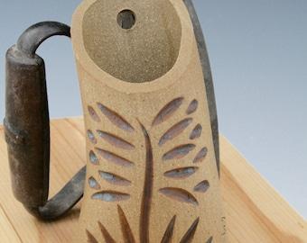 Hanging Wall Pocket, Hanging Vase, Ceramic Vases, Wall Hanging Vases