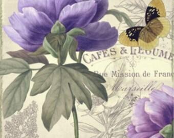 Petals of Paris III - Cross stitch pattern pdf format