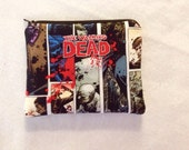 The Walking dead Small zipper coin pouch