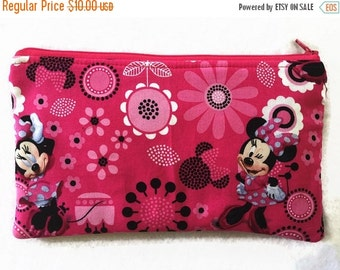 Minnie Mouse Pencil case/cosmetic bag