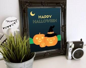 Halloween Printable - Jack o'Lanterns
