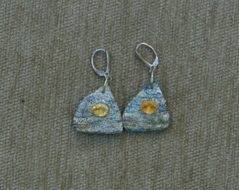 item61-abalone and citrine earrings