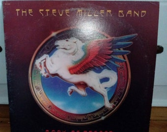 Steve Miller Band Book of Dreams Collectible Vinyl Record VG to EX Condition