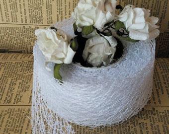 White Lace  Mesh lace