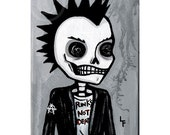 Punk 5x7 By Lupe Flores  art print